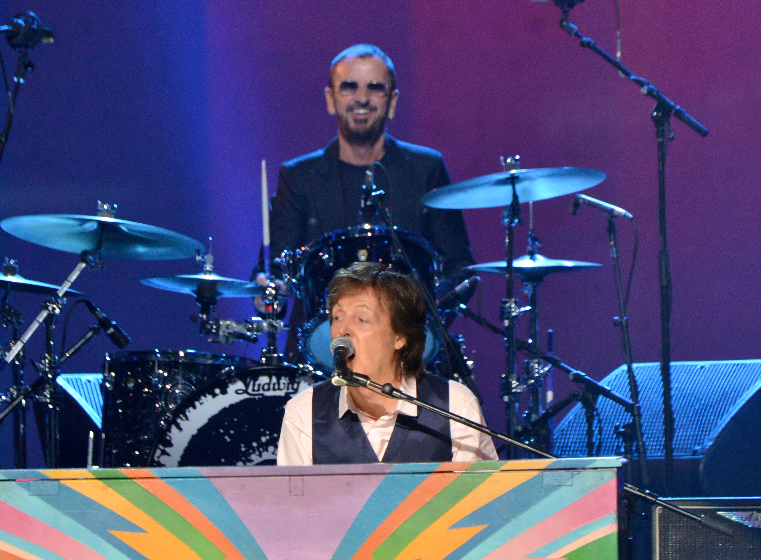 Paul McCartney and Ringo Starr (Larry Busacca/Getty Images)
