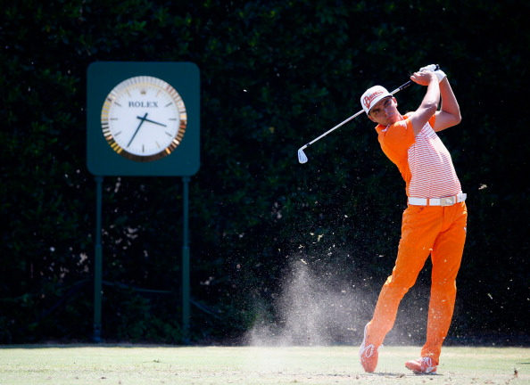 Rickie Fowler during the final round of the 114th U.S. Open. (credit: Sam Greenwood/Getty Images)