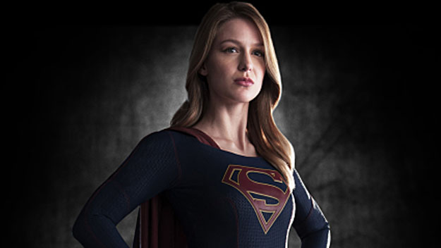 Supergirl played by Melissa Benoist