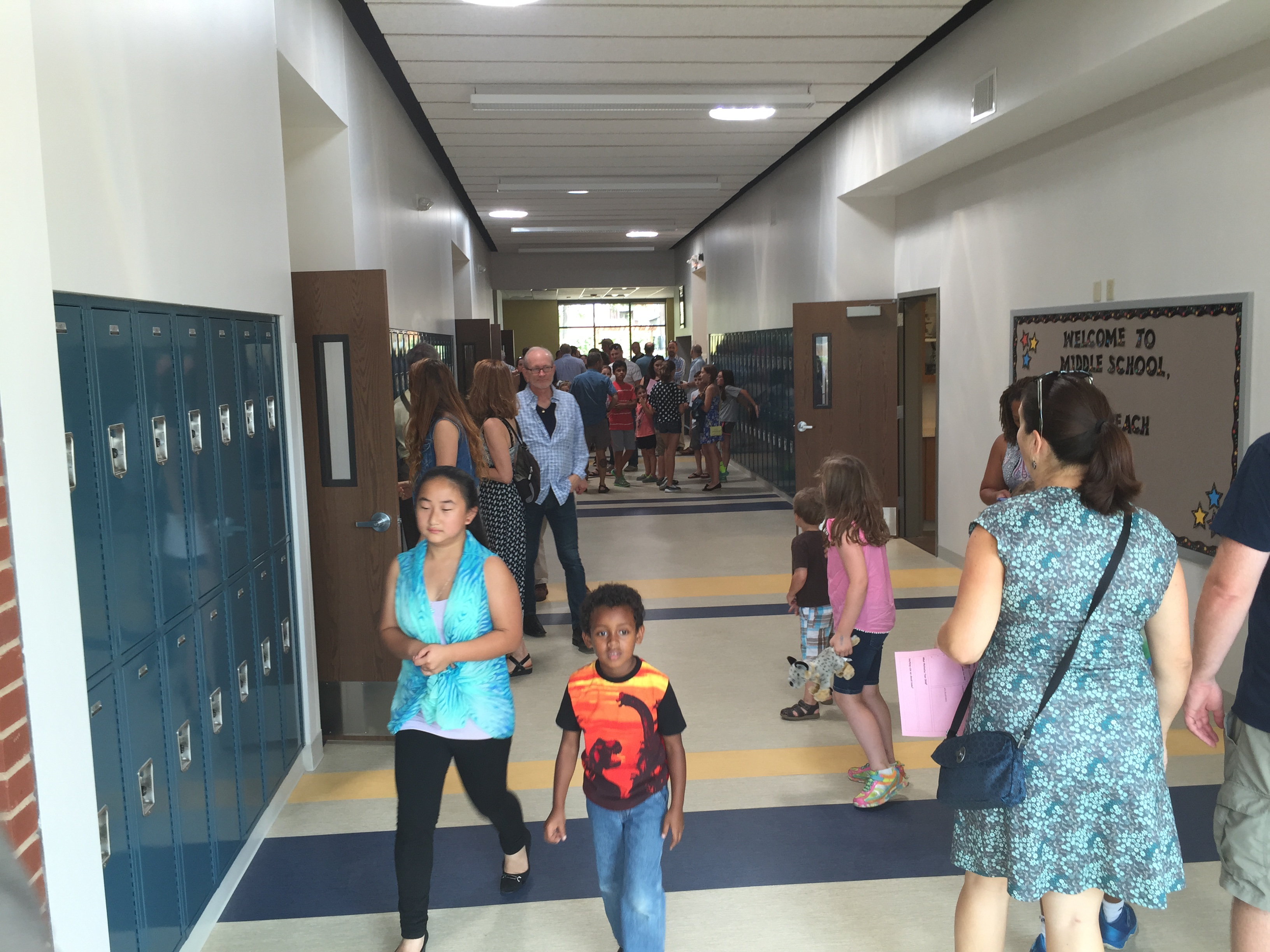 The new middle school at St. Margaret of Scotland in the Shaw neighborhood. Photo by Debbie Monterrey