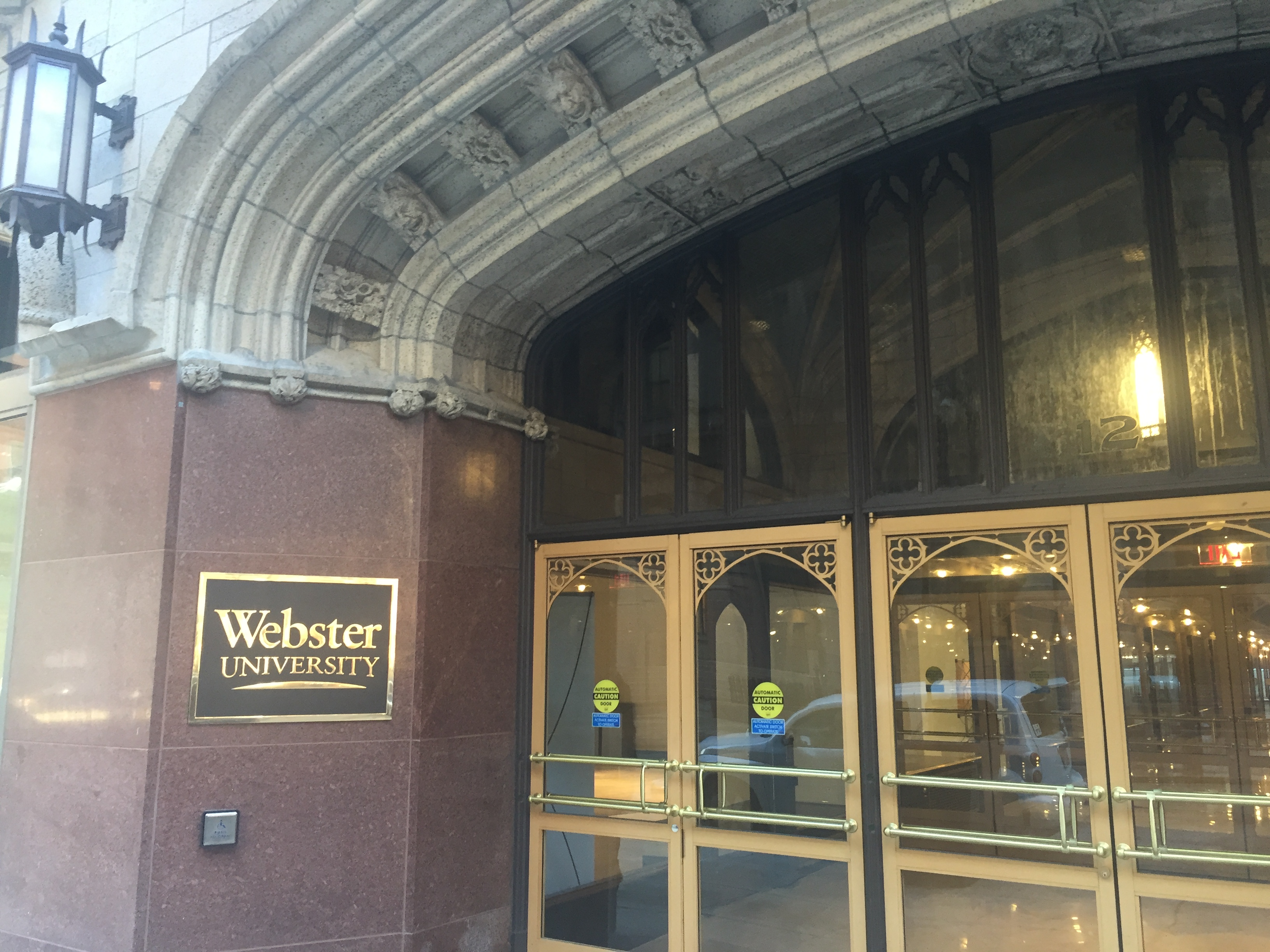 Webster University Downtown, Arcade Building. Photo by Debbie Monterrey.